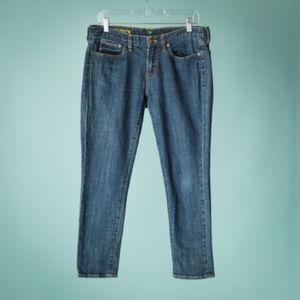 J Crew Size 30 Toothpick Slim Ankle Jeans